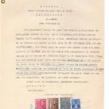20 Document vechi fiscalizat -1940 -Galati- Certificat Nr.14918