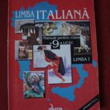 Manual LIMBA ITALIANA CLS a IX a ED. LOGOS de G. SAUCIUC - Manual Clasa a IX-a