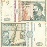 Bacnota 500 lei, 1992