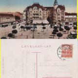 Piata Sf.Laszlo - Oradea -  tramvai - rara