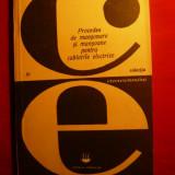 Carti Constructii - A.Stanculescu- Proc. de Mansonare - Cabluri Electrice