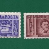 ROMANIA-CENTENAR NASTERE I.CREANGA-NESTAMPILATA-LP 118-4 VAL.