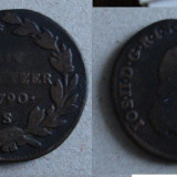 Moneda Medievala - 1 kreuzer 1790 S