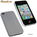 CARCASA iPHONE 4 4G - MESH CASE - CARCASA SPECIALA iPHONE 4S - WHITE MESH