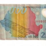 LL bancnota Romania 2000 lei 1999
