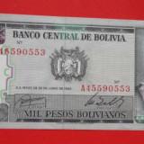 Bancnota Straine, America Centrala si de Sud - Lot 2 bancnote Argentina 1 peso 1983 1 austral Tucuman 1991UNC necirculate