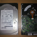 2 HDD SCSI HITACHI Ultrastar 36 Gb 15000 rot - Hard Disk, Sub 40 GB, 16 MB