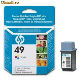 Cartus imprimanta - Cartus HP 49 Tri-color Inkjet