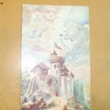 Carte postala Poenari Castelul Tepes Expozitie