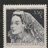 Austria 1968 - COSTUME POPULARE, timbru MNH B2