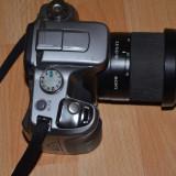 Aparat foto DSLR Sony A100, obiectiv 18 - 55