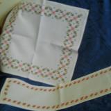 Set servete cu cruciulite - tesatura textila