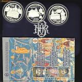 BNR Set 3x10 lei 2008, argint, manastirile Cozia+Voronet+Sambata de Sus - Moneda Romania