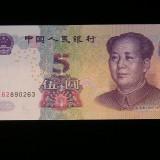 Bancnota Straine - BBS1 - CHINA - 5 YUAN