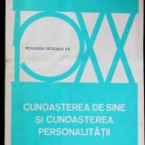 Cunoasterea de sine si cunoasterea personalitatii - V. Pavelcu - Carte Psihologie