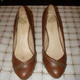 Pantofi dama BERSHKA ORIGINALI, Marime: 36.5, Coffee