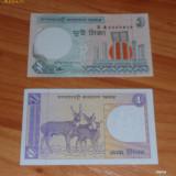 Bancnota Straine - Lot 2 bancnote Asia UNC necirculate