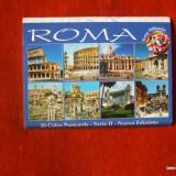 CARTI POSTALE ALBUM 20 BUCATI ROMA ITALIA 2
