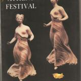(C836) ATHENS FESTIVAL, GREK NATIONAL TOURIST ORGANIZATION, ARTISTIC EVENTS 1996, ATENA, FESTIVAL
