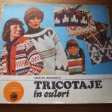 Carte tehnica - TRICOTAJE IN CULORI - Emilia Moisescu