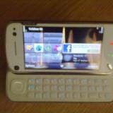 Vand nokia n97 white stare foarte buna - Telefon mobil Nokia N97, Alb, Neblocat