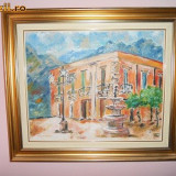 Tablou peisaj din Bernalda - Pictor roman
