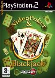 Video Poker & Blackjack   PS2  (ALVio) + sute de alte jocuri ps2 ( VAND SCHIMB )