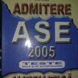 Teste admitere facultate - Admitere Matematica 2005