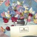 Farfurie decorativa WEDGOOD ~~ SWEET PEA PASTICHE ~~ - Portelan