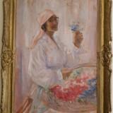 Tiganca florareasa - Pictor roman