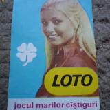 Calendar loto - Calendar colectie