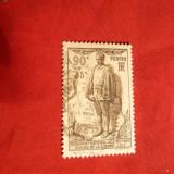 Serie -Monument Victime Civile Razboi 1939 Franta, 1 val.stamp.