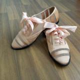 Pantofi dama, balerini noi - Balerini dama, Marime: 35.5, Grena