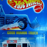 HOT WHEELS --GOOD HUMOUR TRUCK ++1799 DE LICITATII !! - Macheta auto Hot Wheels, 1:64