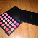 FRAULEIN38 trusa profesionala blush fard farduri obraz 28 culori roz machiaj profesional