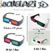 Ochelari 3D pentru filme 3D si jocuri - Transport GRATUIT! foto