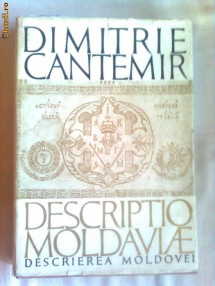 DESCRIPTIO MOLDAVIAE - DIMITRIE CANTEMIR foto