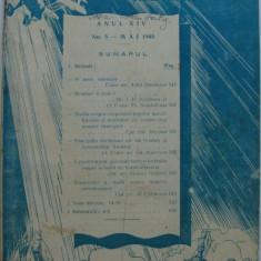 Revista aeronauticei si marinei no.5 - 1940