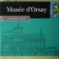 MUSEE D'ORSAY - CD-ROM PC Original - Carcasa DVD
