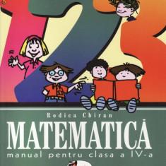 Manual MATEMATICA - CLASA A IV A ED. ARAMIS de R. CHIRAN - Manual scolar Aramis, Clasa 4
