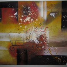 Pictura / Tablou Abstract, tema 4 deosebit !!!
