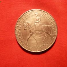 Moneda ANGLIA Comemorativa - Jubileul de Argint al Reginei