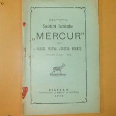 Statute Soc. economica,, Mercur