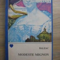 Honore de Balzac - Modeste Mignon - Roman