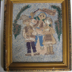 GOBLEN DE COLECTIE DIN ANII 60 - Tapiterie Goblen