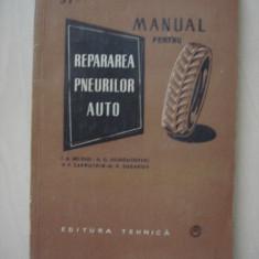 I. A. BELENKI, N.G. ESIMONTOVSKI, V.F. ZAKRUTKIN, N.P. SUDAKOV - MANUAL PENTRU REPARAREA PNEURILOR AUTO - Carti auto