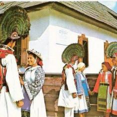 CP201-67 Judetul Bistrita-Nasaud, com. Cosbuc(port popular) -carte postala, necirculata -starea care se vede - Carti Postale Romania dupa 1918