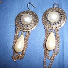 Cercei artizanali cu Perla - Cercei perla