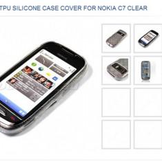 Husa silicon pentru nokia c7 - Husa Telefon