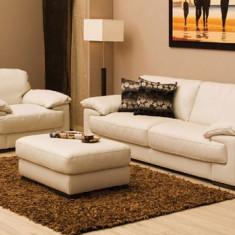 Mobila living - Vand canapea din piele